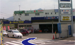 広島駅方面から